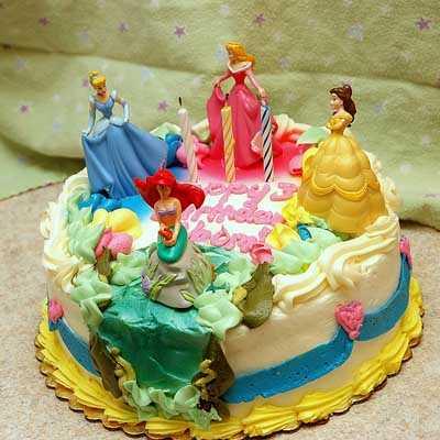 Tortas para niñas de las Princesas de Disney
