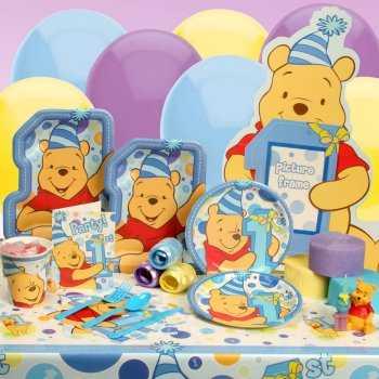 Kits para la decoraci n de la fiesta del primer a o de tu for Decoracion winnie pooh para fiesta infantil