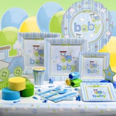 Decoración para un baby shower de niño | Fiesta101