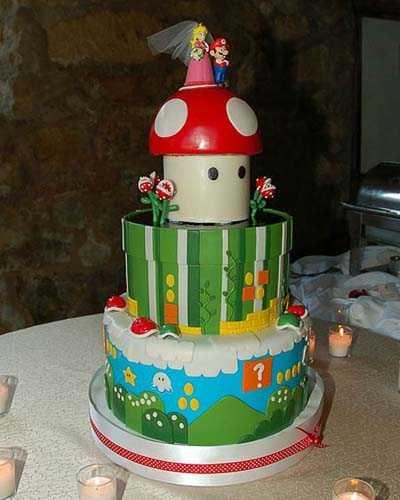 mario-wedding-cake