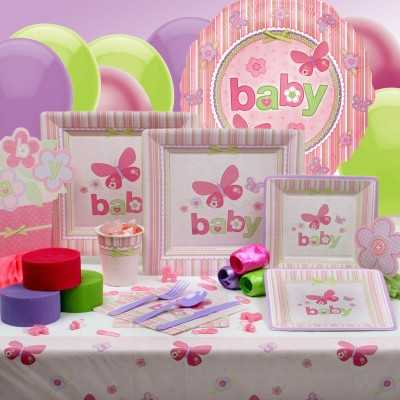 Girl Baby Shower Theme Decoration Ideas