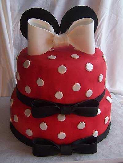 Modelos de tortas de Minnie Mouse