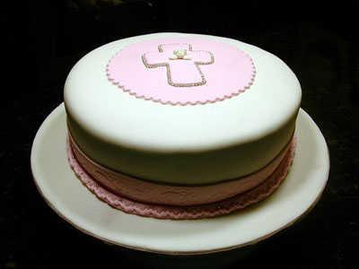 pinkcrosscake