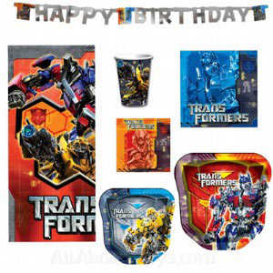 transformers-party-supplies-deluxe-birthday-party-pack