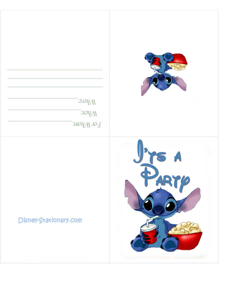 Mickey Mouse Invitation Cards as Perfect Template To Create Perfect Invitation Card