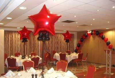 Decoración de fiestas con globos de helio