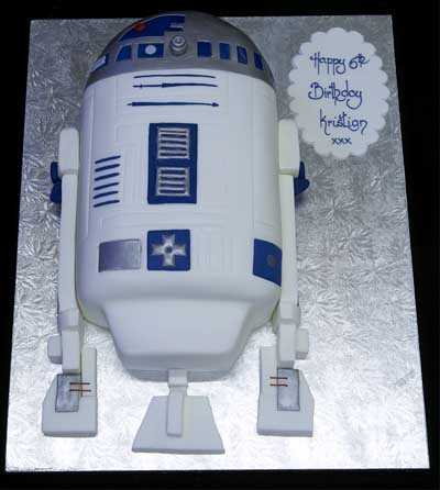 002718 Starwars R2D2 Birthday Cake