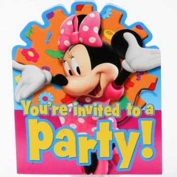 Tu fiesta infantil al estilo de Minnie Mouse