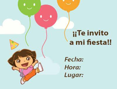 diseños de invitaciones para fiestas infantiles | fiesta101