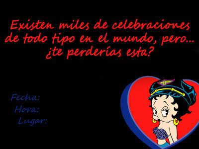 Lindas Invitaciones De Betty Boop Para Imprimir Fiesta101