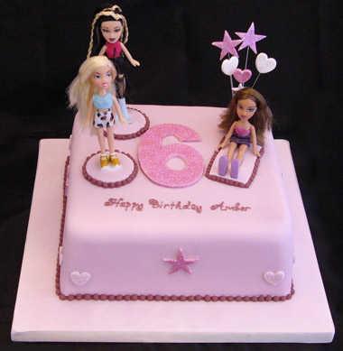 Bratz 6 cake