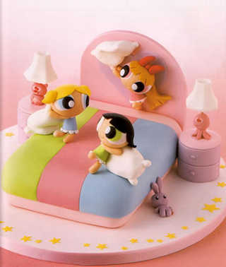 powerpuff girls torta