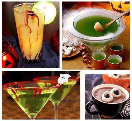 bebidas halloween