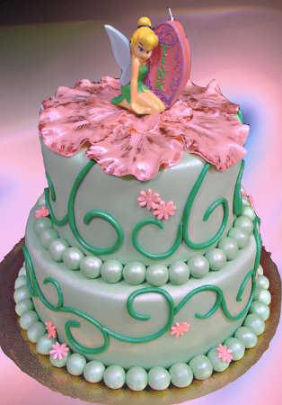 Modelos de pasteles de Tinkerbell o Campanita