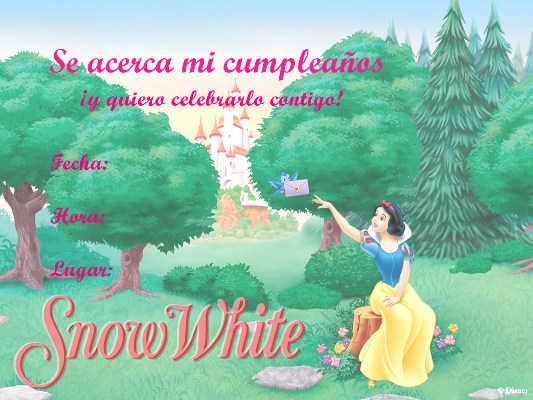 invitacion blancanieves 3
