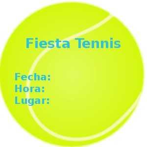 pelota tennis