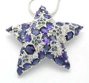 pendiente estrella