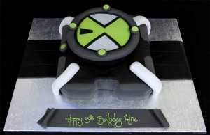 002761 Ben 10 Omnitrix Birthday Cake