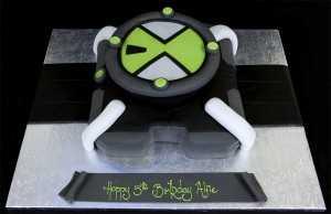 002761 Ben 10 Omnitrix Birthday Cake