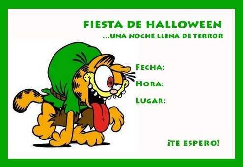 invitacion gardfiel halloween jorobado