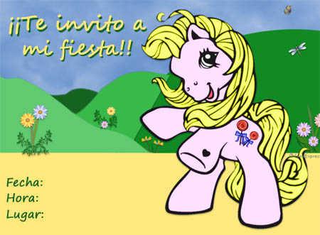 invitacion pequeño pony3