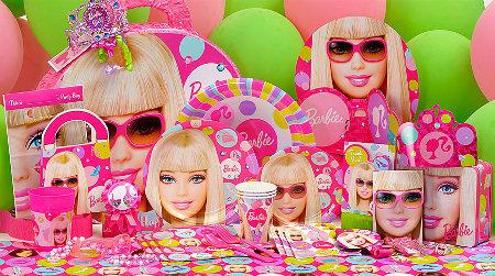 Más accesorios para tu fiesta de cumpleaños de Barbie | Fiesta101