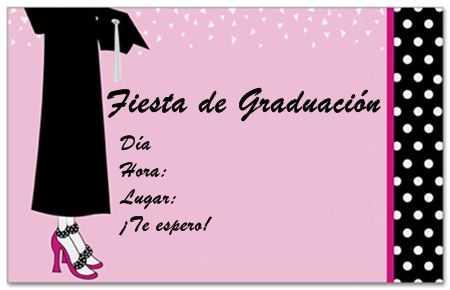 Tarjetas de invitación para fiestas de graduación | Fiesta101