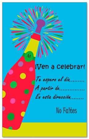Invitaciones De Fiestas De Adultos Para Imprimir Gratis Fiesta101