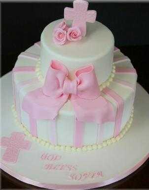 de las tortas de bautizos elementos con decoraciones y presentaciones