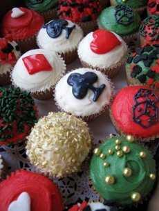 Casino-cupcakes