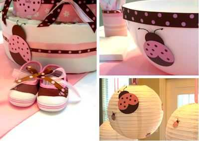 Baby shower de mariquitas imagui for Quiero ver decoraciones