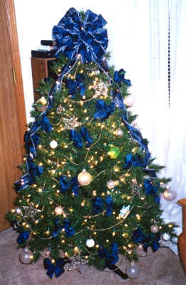 C mo hacer los lazos para tu rbol de navidad fiesta101 - Lazos para arbol de navidad ...