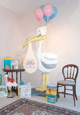 Decoraci n con globos para baby shower fiesta101 for Decoracion pieza nino