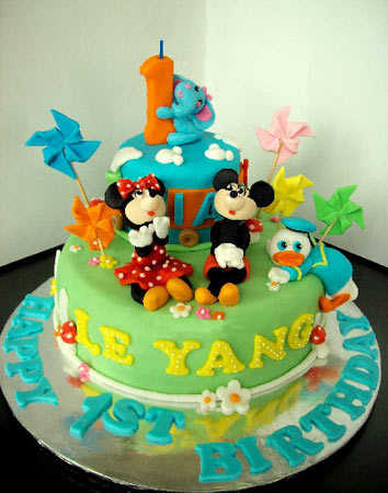 Modelos de tortas de Mickey Mouse | Fiesta101