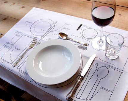 Perdida en la mesa aprende a utilizar los cubiertos para for Como se colocan los cubiertos en la mesa