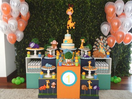 Baby Shower Safari: ¡linda y novedosa decoración para tu fiesta ...