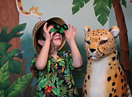 Cómo Decorar Una Fiesta Safari Para Niños Fiesta101