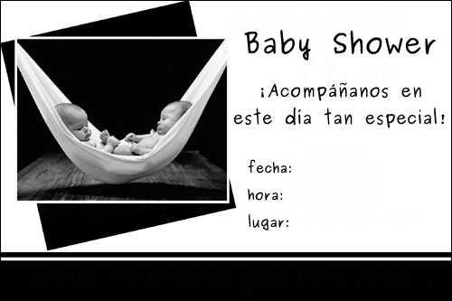 Baby Shower De Gemelos Invitaciones Para Imprimir Gratis Fiesta101