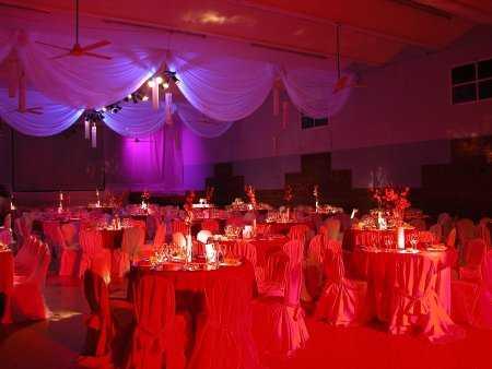 Decoraci n con telas para fiestas fiesta101 - Telas para decorar salones ...