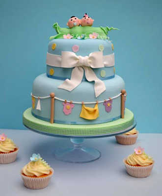 Baby Shower Para Gemelos    Ideas Buen  Simas