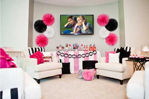 Ideas para decorar la sala para una fiesta fiesta101 - Juegos para chicas de decoracion ...