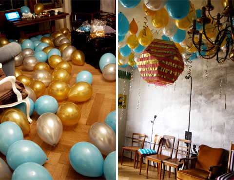 Ideas para decorar la sala para una fiesta fiesta101 for Decoracion fiesta cumpleanos adultos