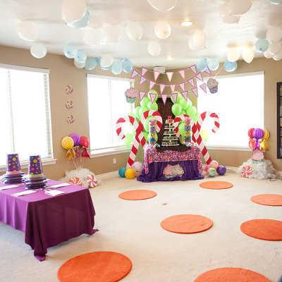 Fiesta Al Estilo Willy Wonka Mucha Diversión Y Dulces