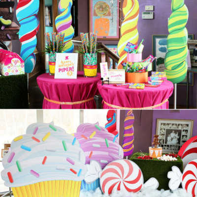 free decoracin de fiesta willy wonka with decoracion cumpleaos nio