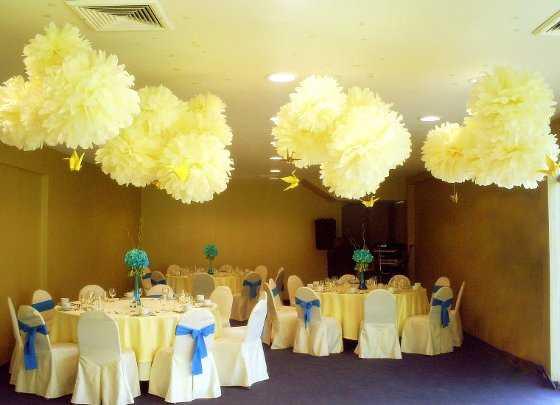 Como decorar un salon para fiesta de bautizo imagui - Como decorar un salon para bautizo ...