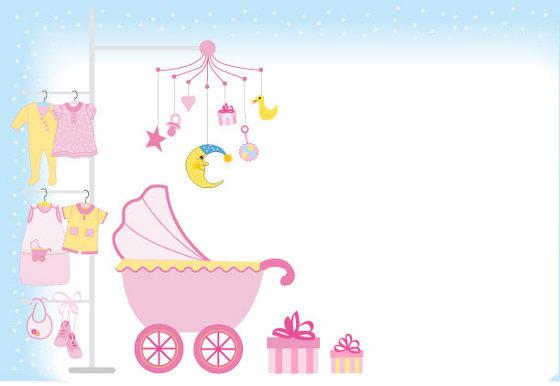 Tarjetas de Baby shower para imprimir | Kit De Imagenes Imprimibles