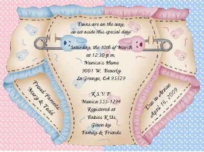 Invitaciones De Baby Shower Para Imprimir Fiesta101