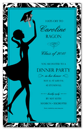 Grad Invitation Wording is luxury invitations design