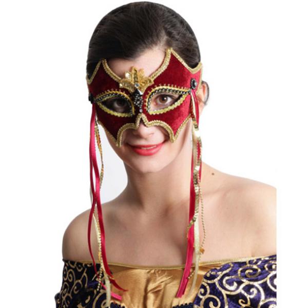 Antifaces con lindos diseños para carnavales