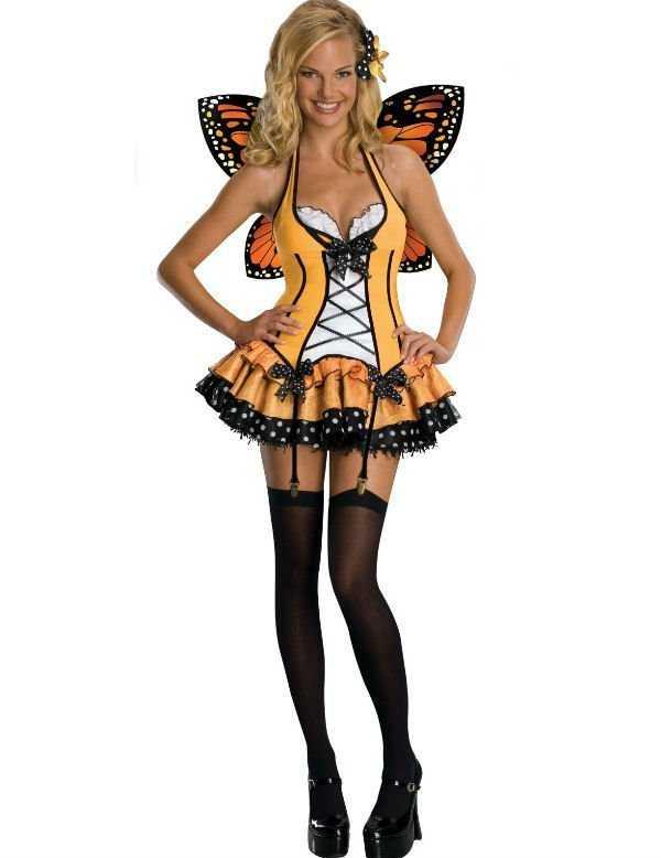 Disfraz de mariposita para carnaval